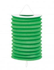 12 Lanternas verdes 20 cm