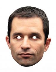 Máscara de cartão benoit Hamon