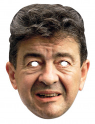 Máscara de cartão Jean Luc Mélenchon