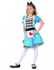 Disfarce Alice menina