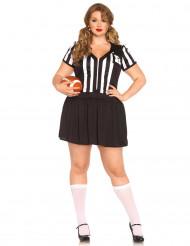 Disfarce árbitro sexy mulher