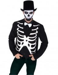 Casaco esqueleto homem