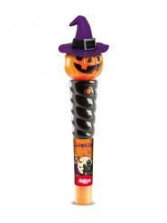Abóbora luminosa com rebuçados Halloween