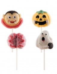 4 Chupa-chupas Halloween