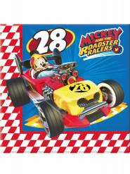 20 Guardanapos de papel Mickey & Donald Racing™