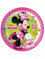 8 Pratos Minnie Happy™