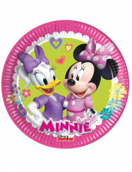 8 Pratos pequenos Minnie Happy™