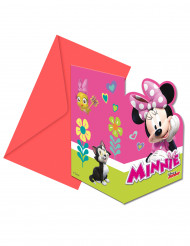 6 Convites com envelopes Minnie Happy™