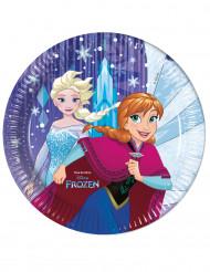 8 Pratos de cartão Frozen™