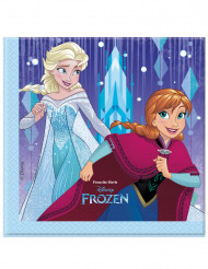 20 Guardanapos de papel Frozen™