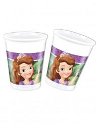 8 Copos de plástico Princesa Sofia e o unicórnio™