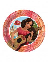 8 Pratos pequenos de cartão Elena de Avalor™
