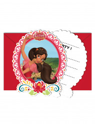6 Convites com envelopes Elena de Avalor™