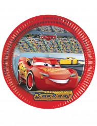 8 Pratos de cartão Cars 3™