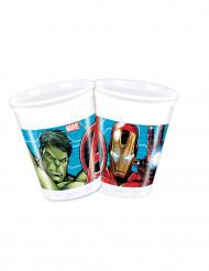 8 Copos de plástico Avengers Mighty™