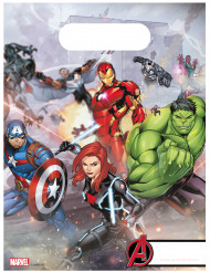 6 Sacos de festa Avengers Mighty™