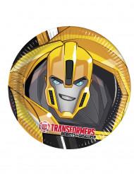 8 Pratos de cartão Transformers RID™