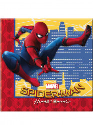 20 Guardanapos de papel Spiderman Homecoming™