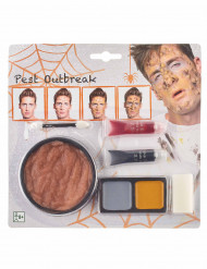 Kit de maquilhagem peste Halloween