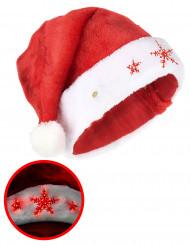 Gorro floco luminoso adulto Natal