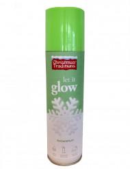 Spray neve fosforescente Natal 150 ml
