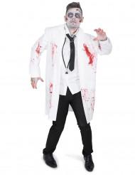 Disfarce médico zombie homem