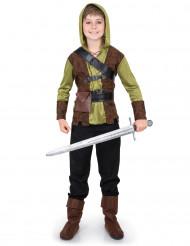 Disfarce Robin da floresta menino