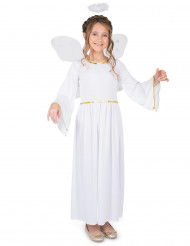 Disfarce Anjo do céu menina