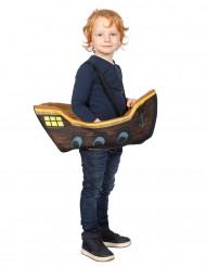 Disfarce pirata no seu barco