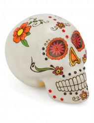 Decoração caveira colorida Dia de los muertos