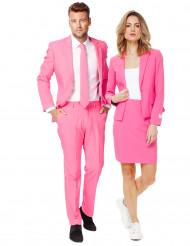 Disfarce de casal Opposuits™ cor-de-rosa
