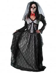 Disfarce contessa esqueleto mulher Dia dos Mortos