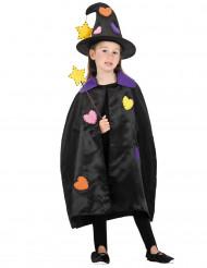 Kit acessórios bruxa menina Halloween