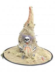Chapéu de bruxa adulto para Halloween