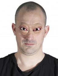 Mascarilha látex olhos salientes adulto Halloween