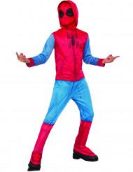 Disfarce Spider-Man Homecoming™ com cobre-botas criança