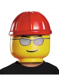 Máscara trabalhador da construção LEGO® criança