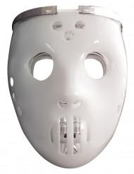 Máscara luminosa 2 em 1 jogador de hóquei para adulto