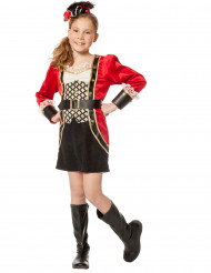 Disfarce capitão pirata luxo menina
