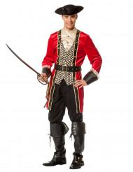 Disfarce capitão pirata luxo homem