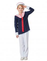 Disfarce marinheiro menino
