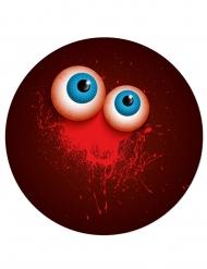 6 Pratos de cartão assassínio Halloween