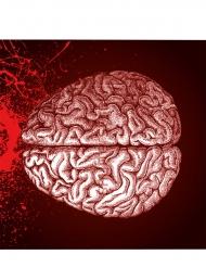 20 Guardanapos de papel cérebro