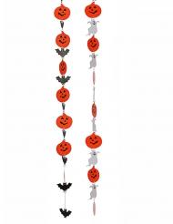1 Decoração suspensa Halloween 130 cm aleatória