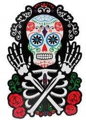 Decoração de parede Esqueleto colorido Dia de los muertos
