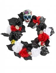 Coroa de flores Dia de los muertos