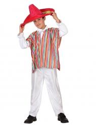 Disfarce mexicano menino