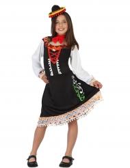 Disfarce vestido mexicano menina