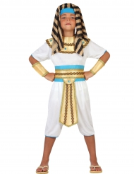 Disfarce faraó do Nilo menino