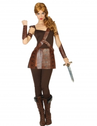 Disfarce gladiadora romana mulher